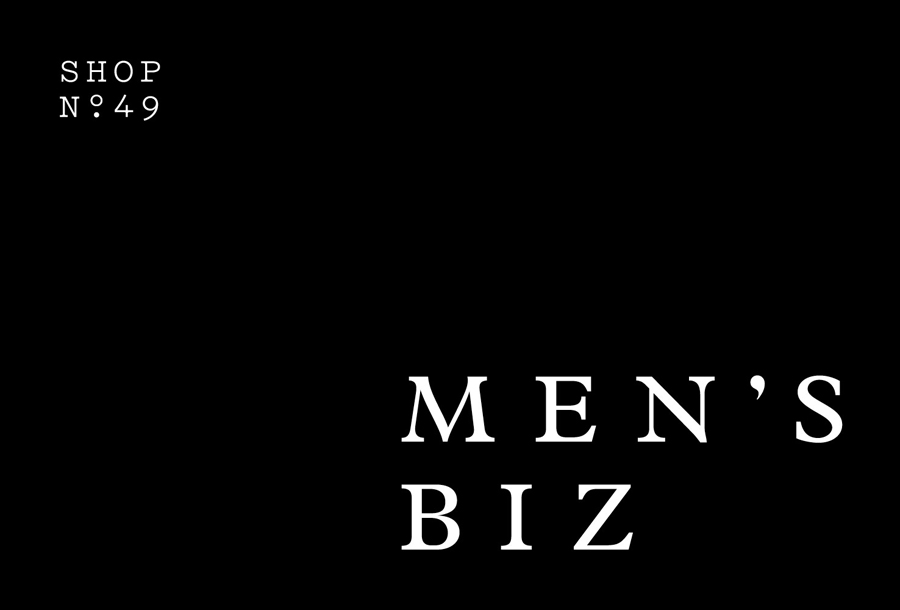 Logotype designed by ThoughtAssembly for male grooming business Men's Biz