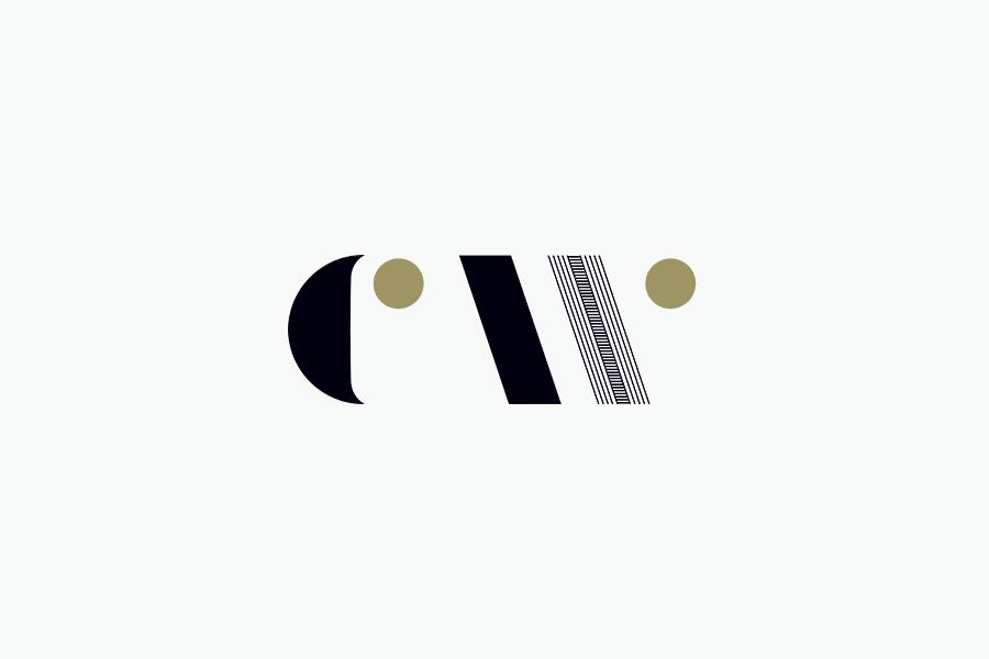 Logo designed by Studio Alexander for furniture maker, sculptor and design educator Carin Wilson