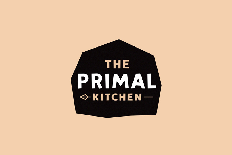 Logo for paleo diet inspired brand The Primal Kitchen designed by Midday