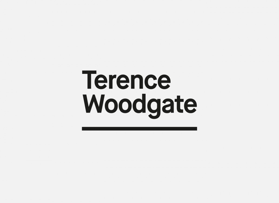 Logotype for lighting design and manufacturer Terence Woodgate designed by Charlie Smith Design