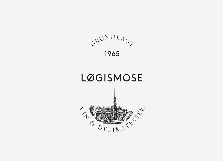 Logo designed by Homework for Løgismose