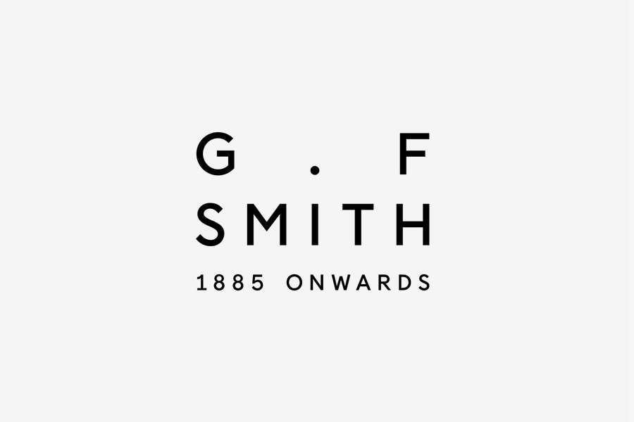Logotype designed by Made Thought for British paper manufacturer G . F Smith