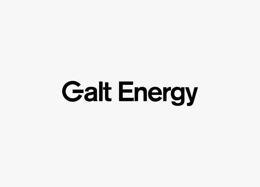 Logotype for Galt Energy designed by Firmalt