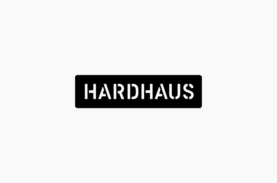 Logotype by Heydays for specialist mountain sports retailer Hardhaus