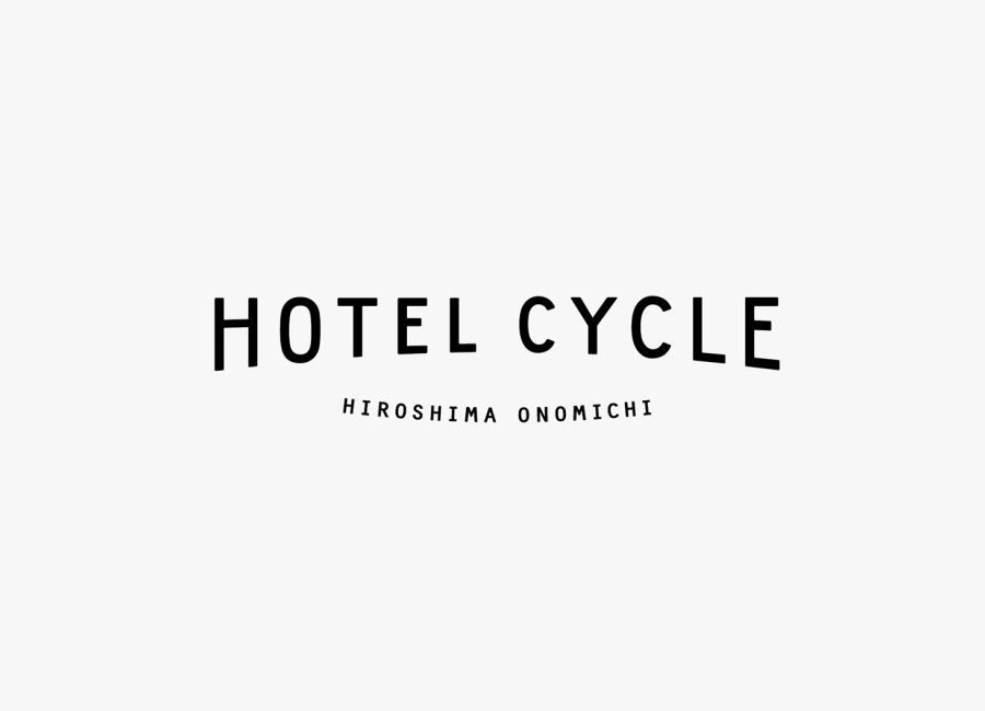 Logotype designed by UMA for U2's Onomichi based Hotel Cycle