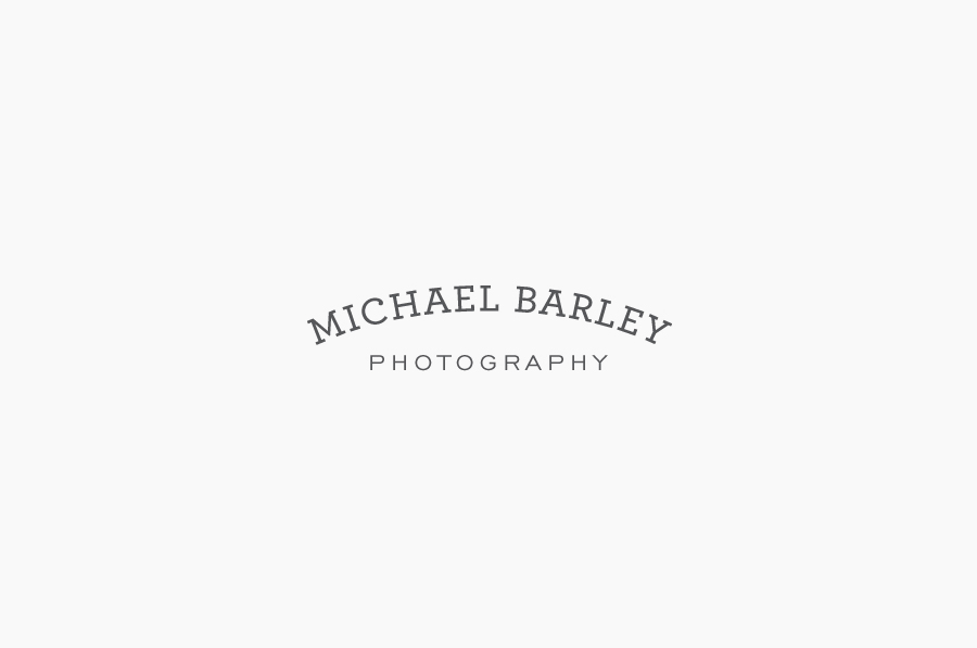 Logo design by 3advertising for Texas-based commercial photographer Michael Barley