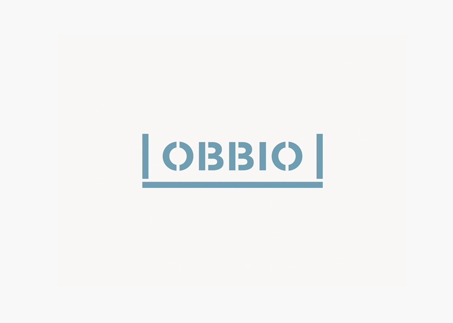 Logo designed by Mayuscula for Spanish organic supermarket Obbio