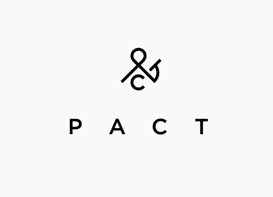 Logo designed by Acre for co-branded retail partnership Pact