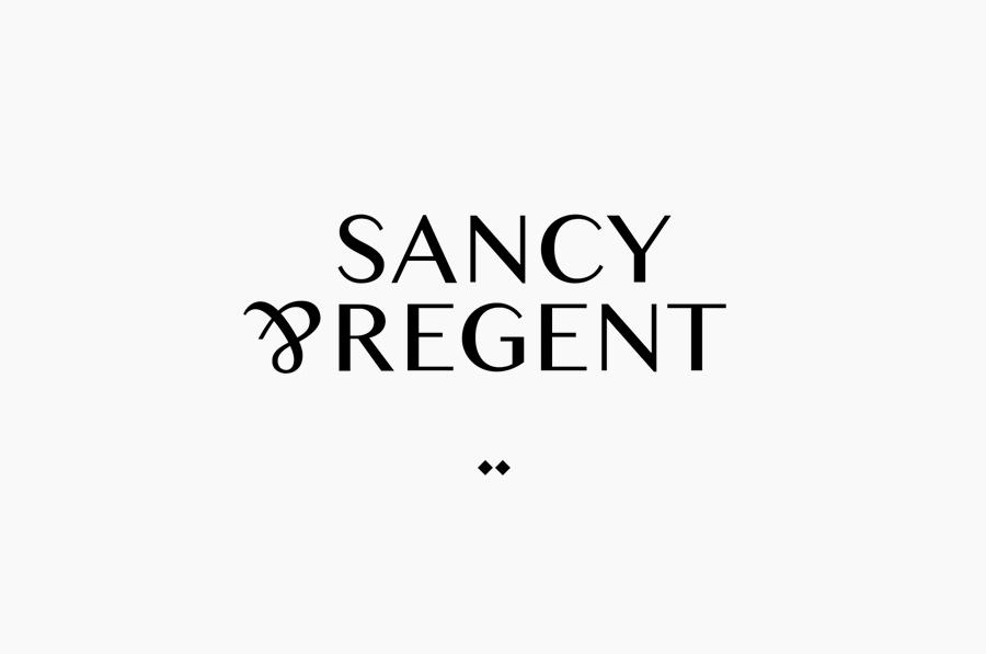 Logo design for boutique jewellery retailer Sancy & Regent designed by OK-RM