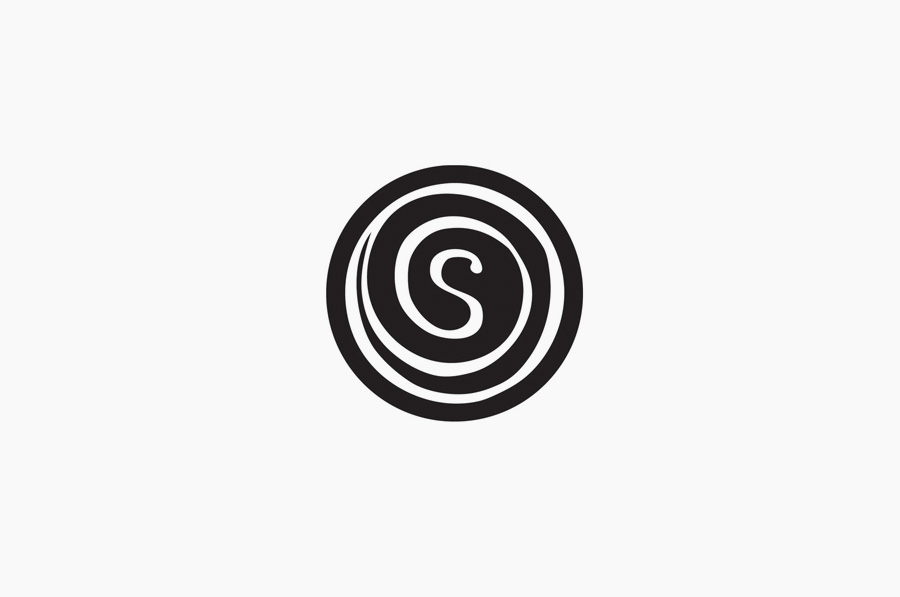 Logo designed by &Smith for confectionery shop SugarSin