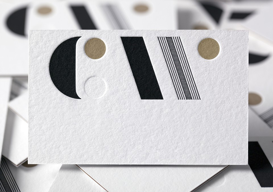 New logo and business cards by Studio Alexander for furniture maker, sculptor and design educator Carin Wilson
