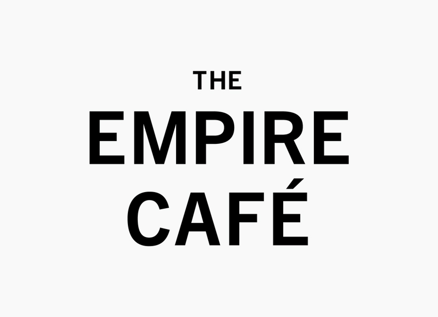 Logotype designed by Graphical House for The Empire Café
