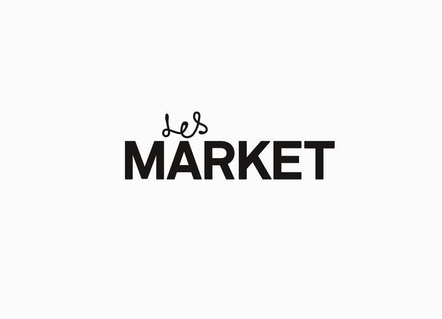 Logo design by Planet Creative for on-line fashion boutique Les Market