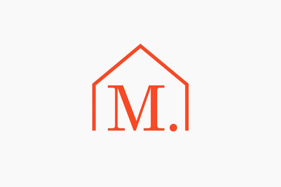 Logo designed by Studio Lin for Tokyo homeware store Minke