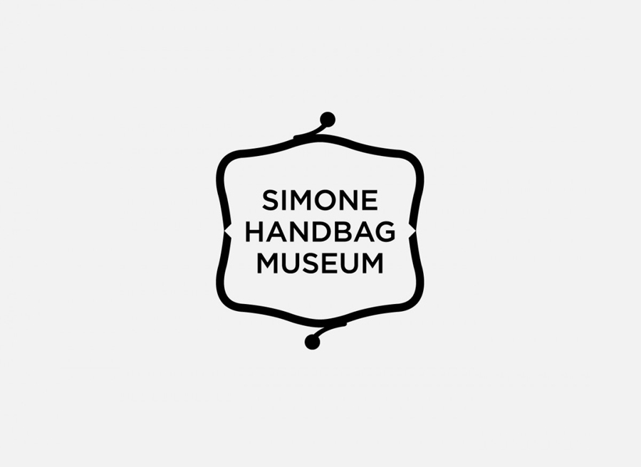 Logo designed by Charlie Smith Design for the Simone Handbag Museum