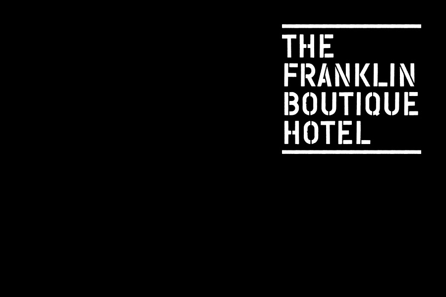 Logo designed by Band for The Franklin Boutique Hotel