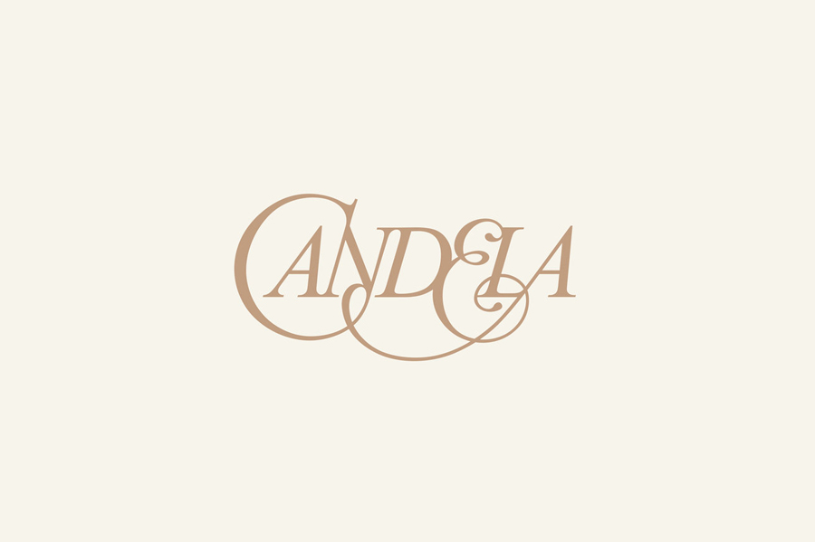 Logo designed by RoAndCo for footwear and fashion brand Candela