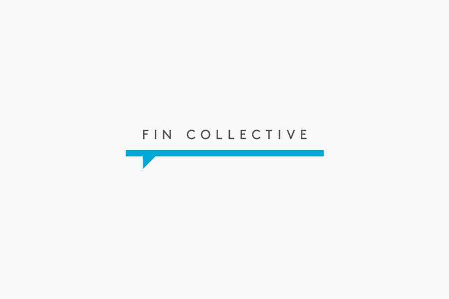 Logo designed by DIA for custom surfboard maker Fin Collective