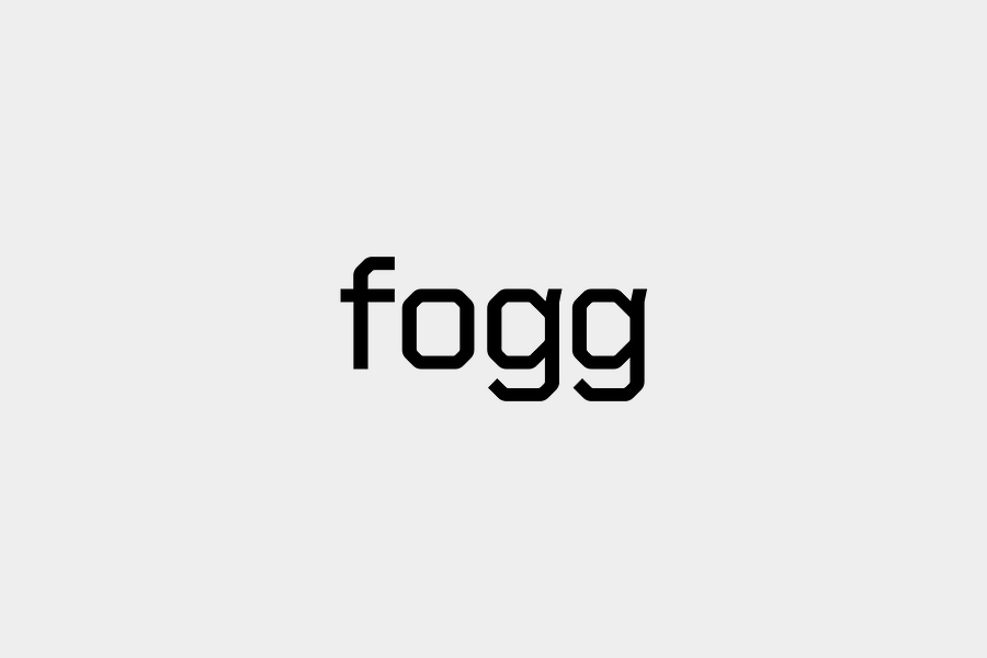 Logotype designed by Kurppa Hosk and Bunch for international fixed cost mobile data traffic service Fogg