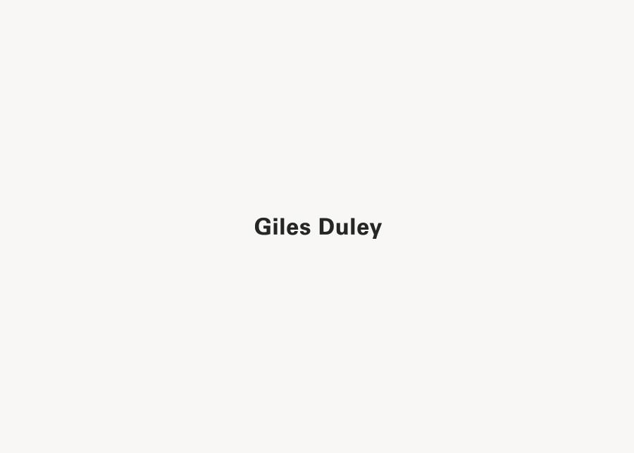 San-serif logotype for photographer Giles Duley designed by Shaz Madani