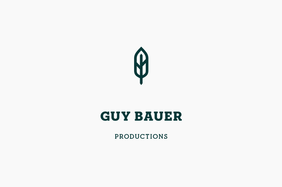 Logo design by Anagrama for Guy Bauer