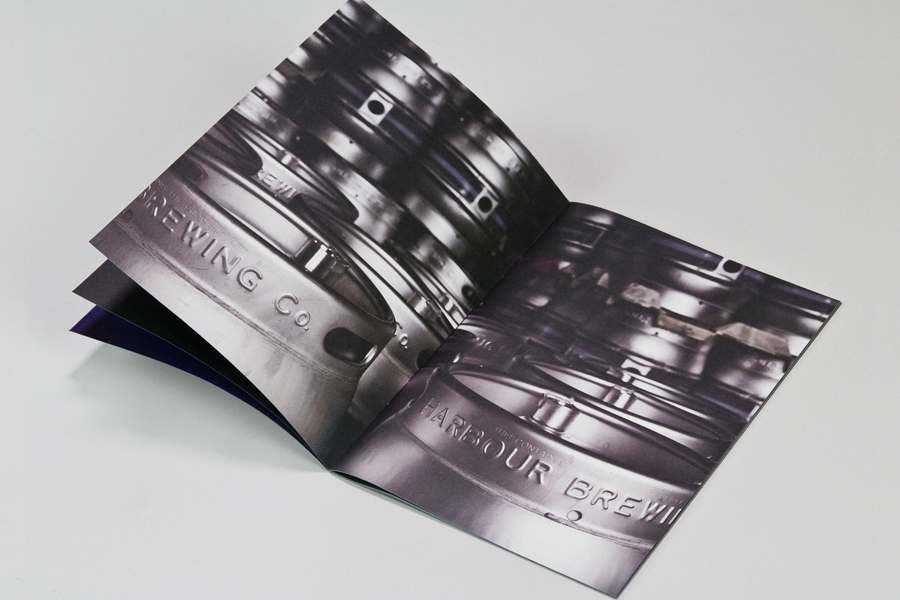 Print designed by A-Side Studio for Harbour Brewing Co.
