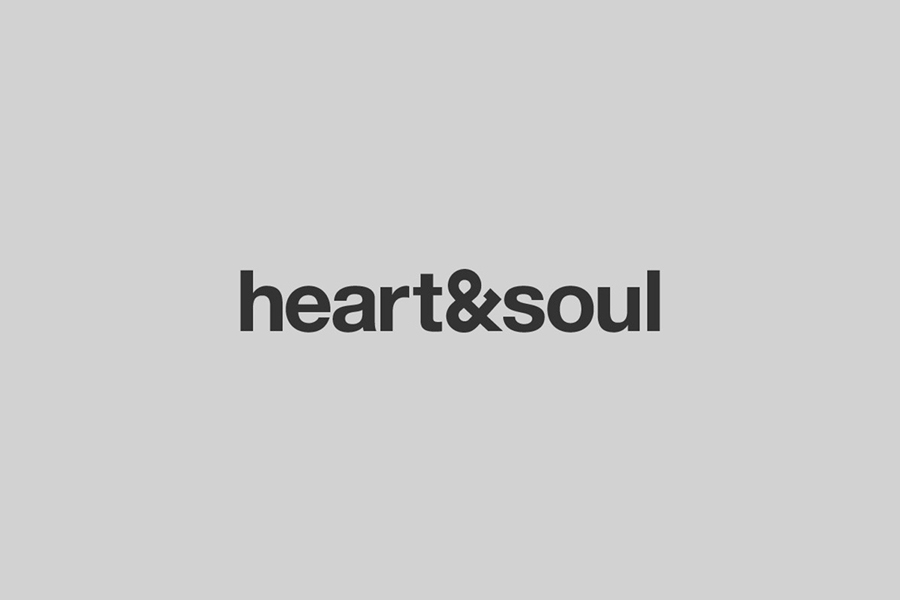 Logo designed by Band for Australian interior decoration firm Heart & Soul