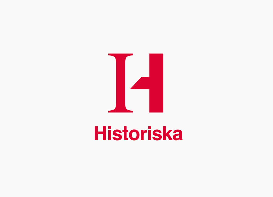 Logo for the Swedish History Museum designed by Bold