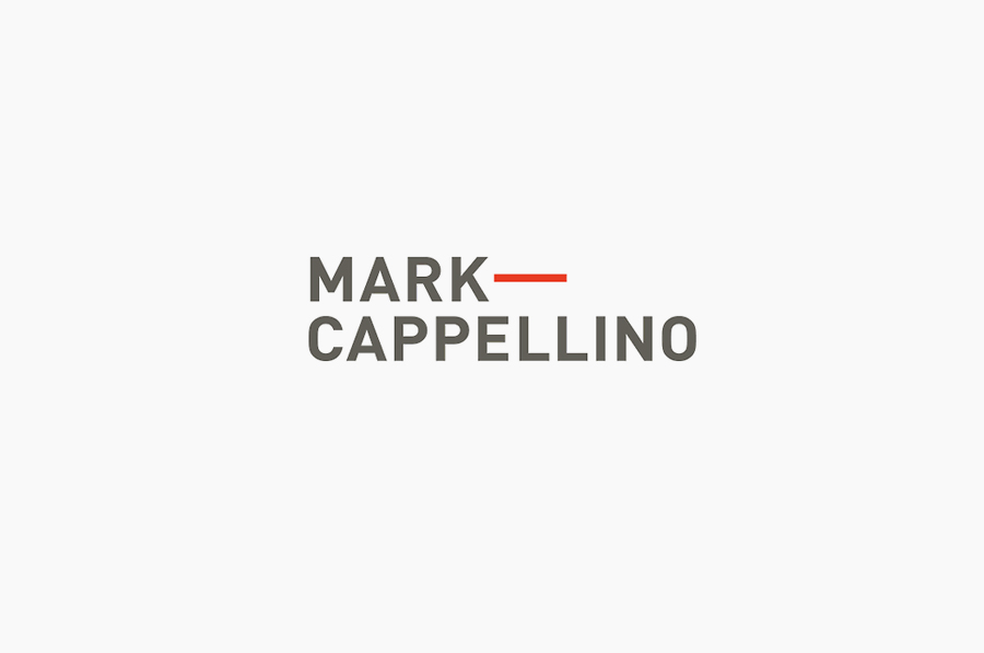 Logo design by Perky Bros for leadership consultant Mark Cappellino