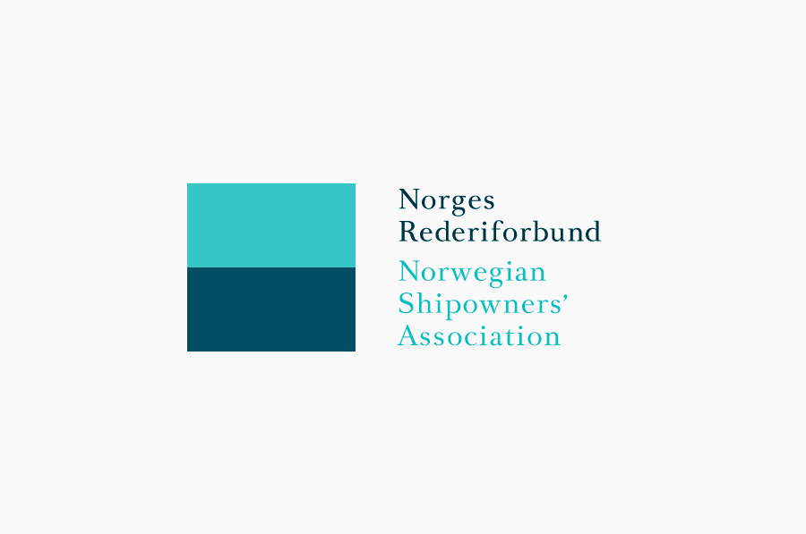 Logo designed by Neue for Oslo-based Norwegian Shipowners' Association