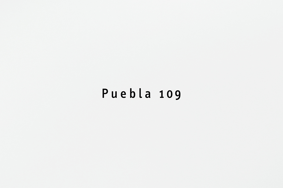 Logotype by Savvy for design and gastronomy experience Puebla 109
