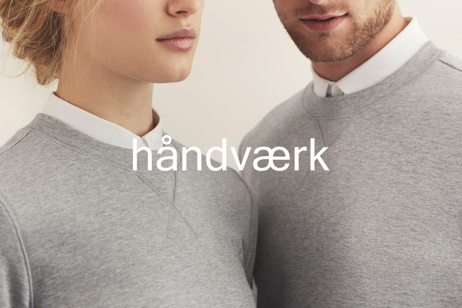 Logo for fashion brand Handvaerk designed by Savvy