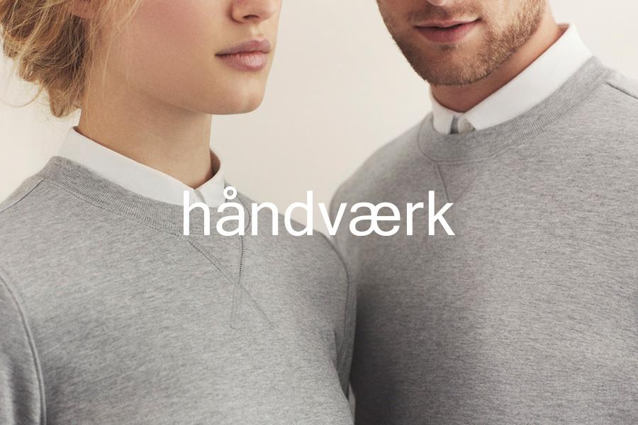 Logo for fashion brand Handvaerk designed by Savvy