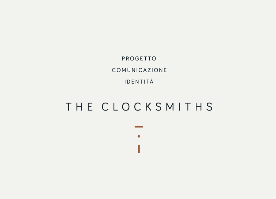 Self-initiated logo and stationery design by The Clocksmiths