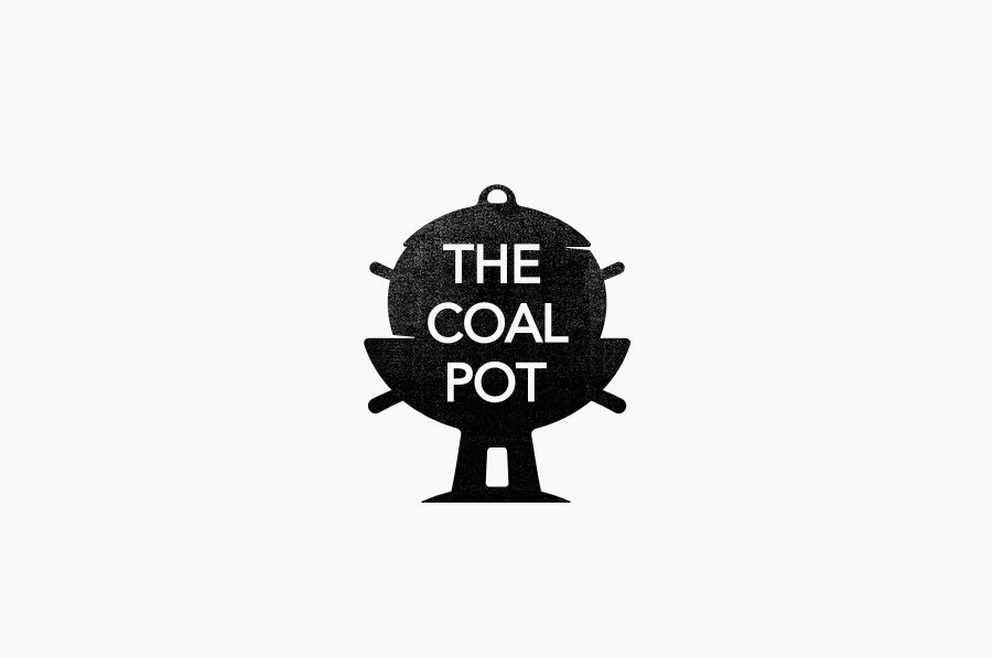 Logo designed by Port Clarendon for handcrafted soap, oil and cream brand The Coal Pot