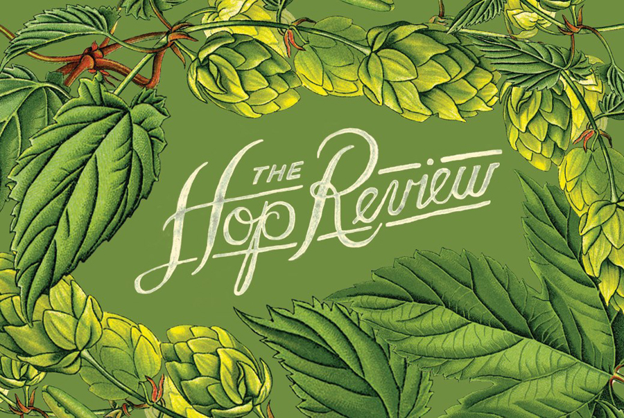 Script logotype and illustration created by Jack Muldowney for beer blog The Hop Review