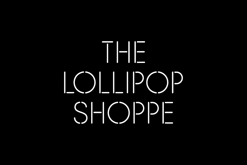 Logotype created by Studio Makgill for designer furniture and accessories retailer The Lollipop Shoppe
