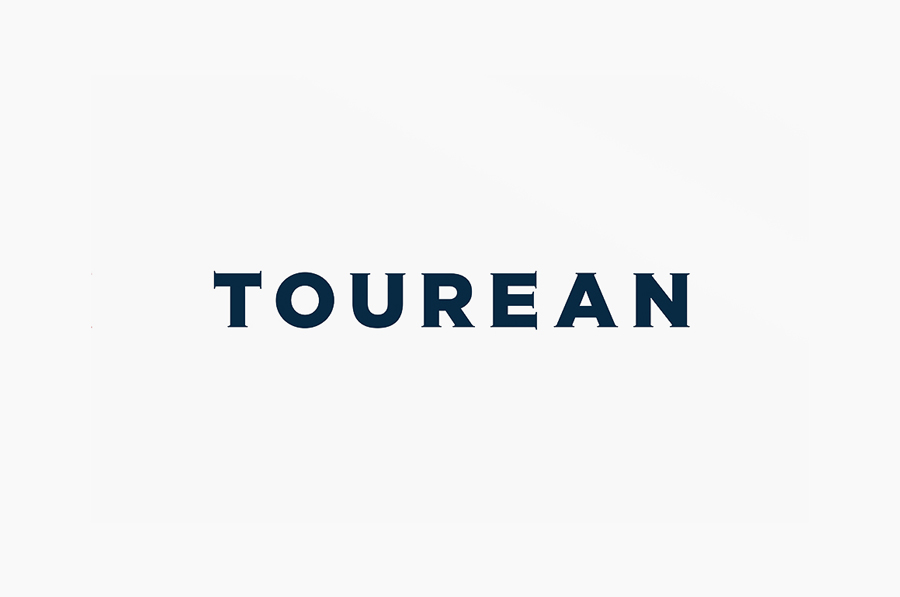 Logotype for British multinational venture capital firm Tourean designed by Anagrama