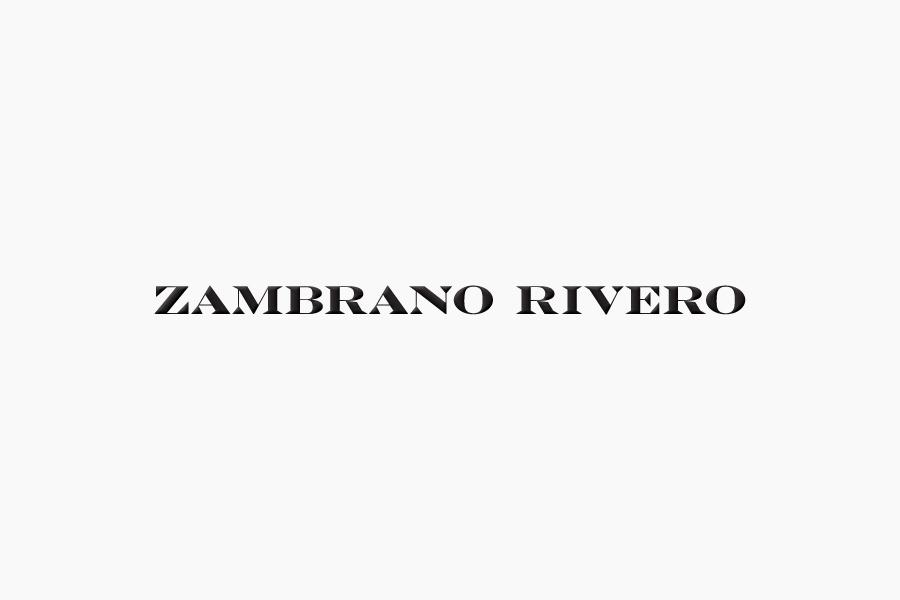 Logo design by Face for San Pedro law firm Zambrano Rivero