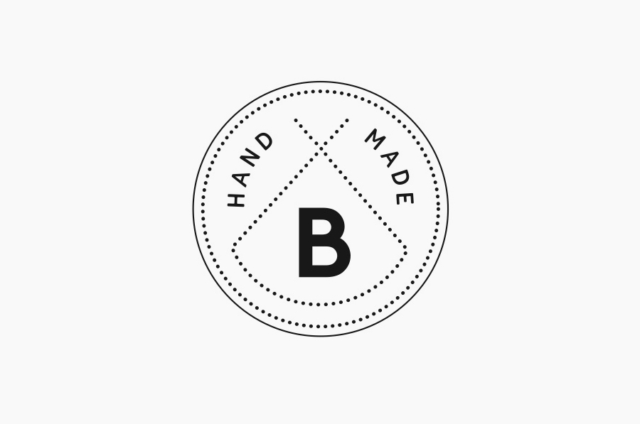 Logo designed by Swear Words for gift box service Bindle