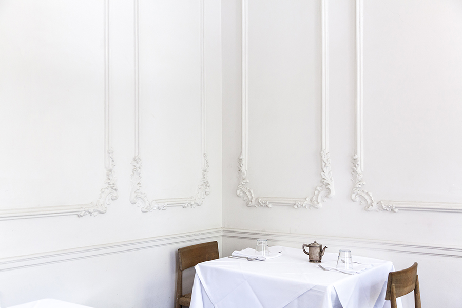 Interior of restaurant Casa Virginia