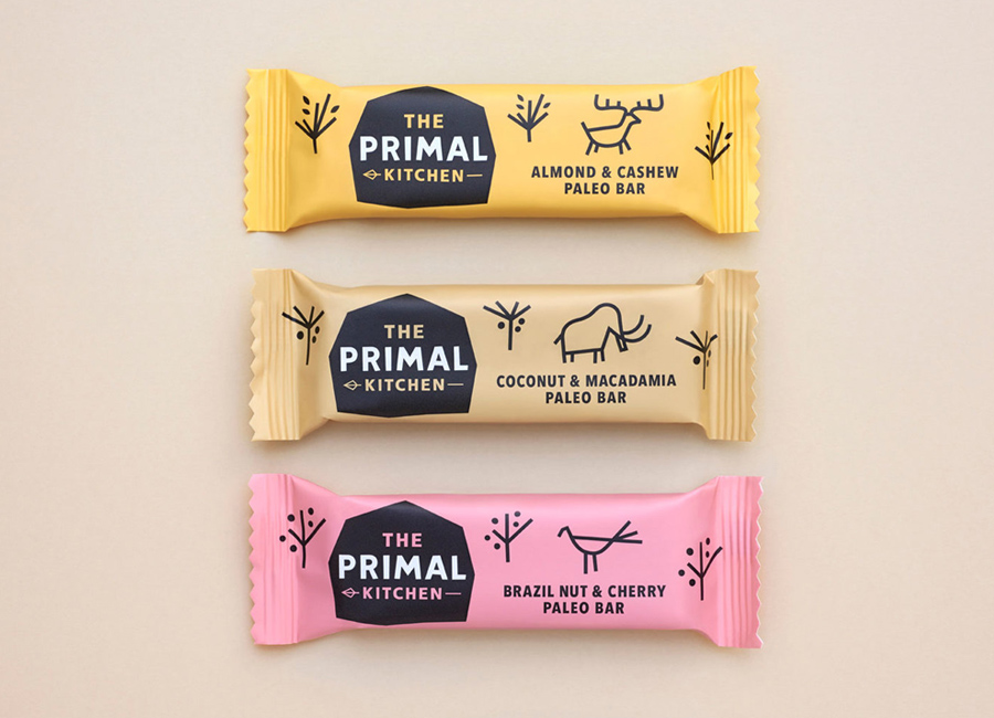 Logo and packaging for The Primal Kitchen designed by Midday