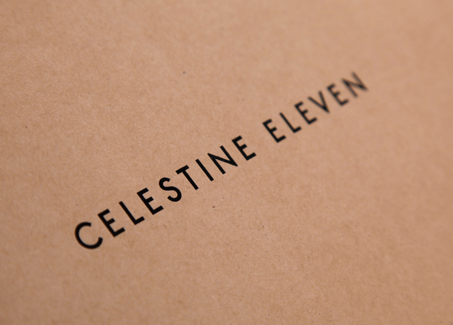 Logo designed by Construct for luxury fashion and homeware store Celestine Eleven