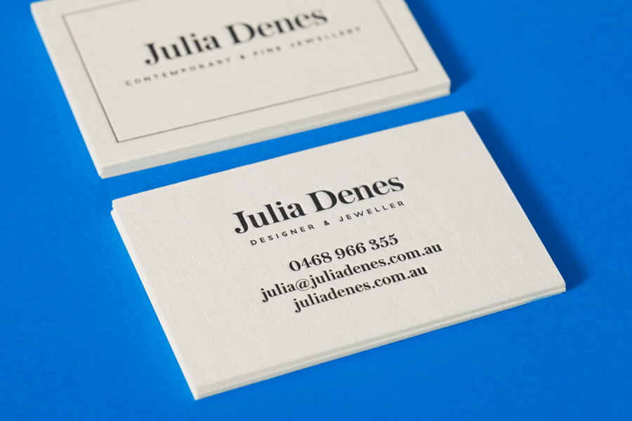 New Brand Identity for Julia Denes by Sammut - BP&O