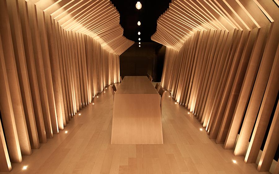 San Pedro-based carpentry studio Maderista interior