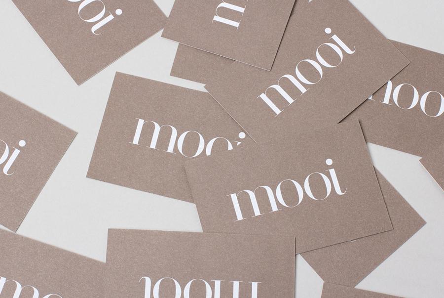 New Brand Identity For Mooi By Morse Studio Bp O