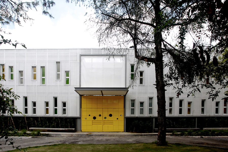 The exterior of architecture and urban design firm Stación-ARquitectura