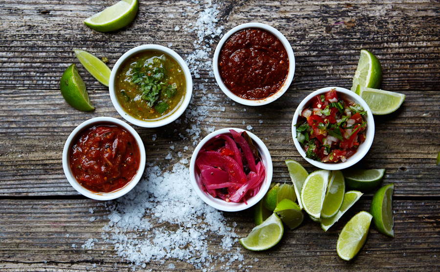 Food photography for Taco República commissioned by Bielke+Yang