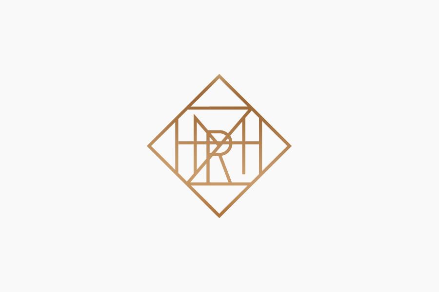 Monogram designed by Face for San Pedro law firm Zambrano Rivero
