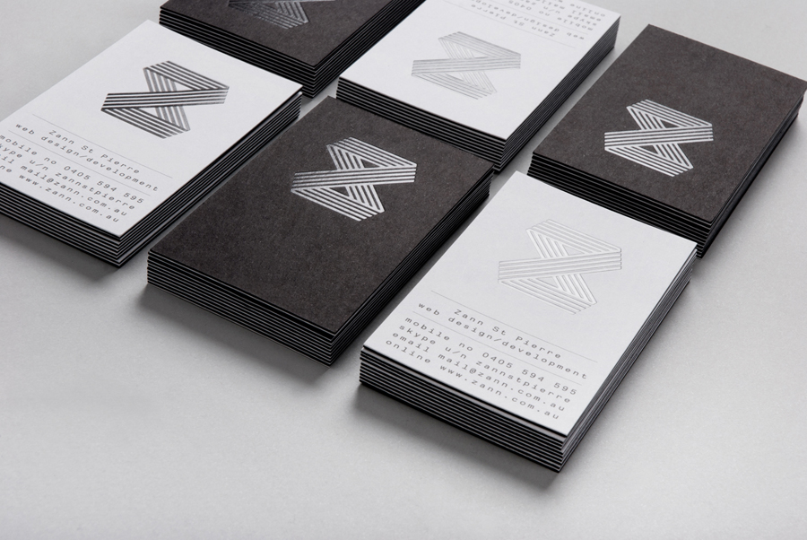 New Visual Identity for Zann St Pierre by Thought Assembly - BP&O